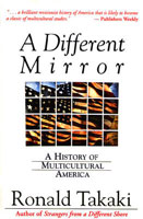 book cover of Ronald Takaki's A Different Mirror