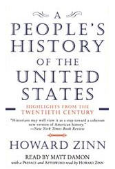 bookcover of Howard Zinn's A People's History of the United States